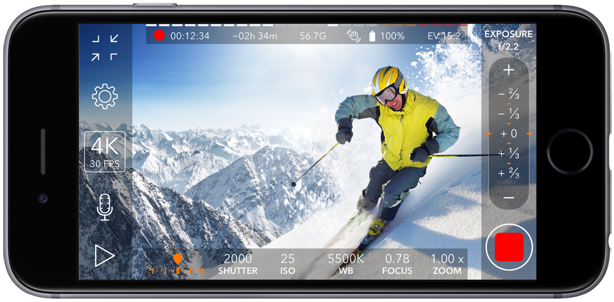 ProMovie Recorder – Video camera app with manual control for